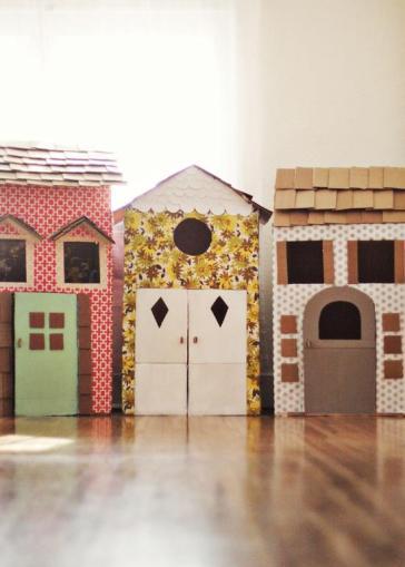 Cardboard Cubby